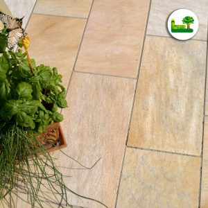 Naturstein brasilianischer Quarzit Bodenplatte